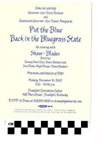 Image of Put the Blue Back in the Bluegrass State