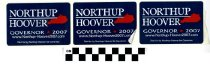 Image of Northup/Hoover: governor 2007