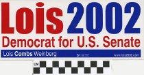 Image of Lois 2002, Democrat for U.S. Senate