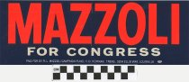 Image of Mazzoli for Congress