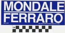 Image of Mondale/Ferraro
