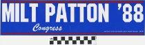Image of Milt Patton '88: Congress