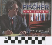 Image of Democrat Greg Fischer- U.S. Senate
