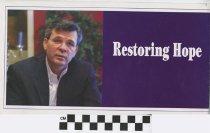 Image of Ernie Flecther: Restoring Hope