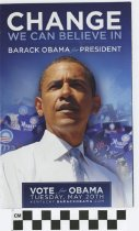 Image of Change we Can believe in: Obama for President