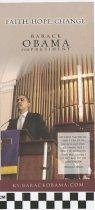 Image of Faith, Hope, Change: Barack Obama for President