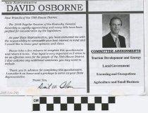 Image of David Osborne Survey