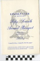 Image of Liincoln Club of Kentucky 57th Annual Banquet