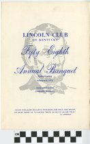 Image of Lincoln Club of Kentucky 58th annual Banquet