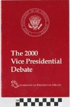 Image of The 2000 Vice- Presidential Debate
