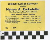 Image of Lincoln Club of Kentucky 62nd annual dinner