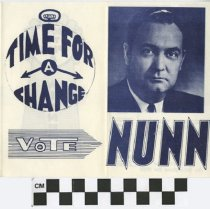 Image of Time for a Change: Vote Nunn