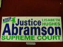Image of Keep Justic Lisabeth Hughes Abrams Supreme Court