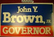 Image of John Y. Brown, Jr.: Governor