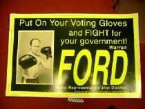 Image of Put your voting floves on and fight for government: Elect Ford