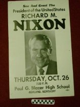 Image of See and Greet Richard M. Nixon