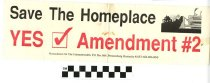 Image of The Homeplace: Yes on Amendment 2