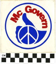 Image of Sticker in support of McGovern