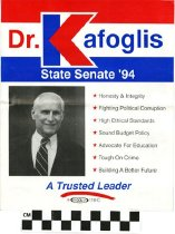 Image of Dr. Kafoglis for State Senate: A Trusted Leader