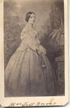 Image of Mrs. Jefferson (Varina) Davis - Anthony, E.