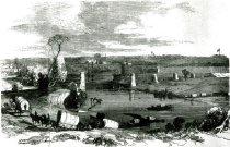 Image of Fording the Barren River Bridge in Ruins -