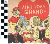 Image of Greeting Card Aint Love Grand