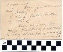 Image of Birthday Card to Eva Price