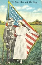 Image of Patriotic Postcard