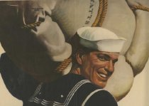 Image of WW II Sailor Poster -