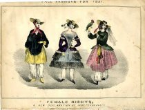 Image of Fall fashion for 1851 -