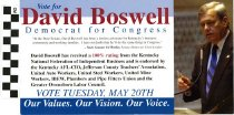 Image of David Boswell, Democrat, For Congress