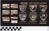 Image of Bowling Green Hot Rods professional baseball team flyer,  -