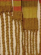 Image of Detail view of weaving by Melanie Smith