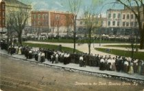 Image of Students in the park, Bowling Green, KY -