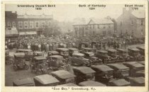 """Image of """"Cow Day"""", Greensburg, Ky. - Auburn Greeting Card Co."""