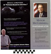 Image of Negative Ad: Bruce Lunsford: An Extreme record on Abortion!