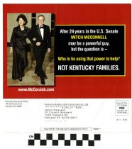 Image of McConnell is not helping Kentucky Families