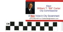 Image of Elect WIlliam T. 'Bill' Carter for City Commissioner