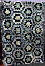 Image of 2009.161.2 - Flower Garden pattern quilt