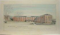 Image of Bates-Runner Hall - Drawing