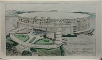 Image of Architectural rendering of E. A. Diddle Arena, Western Ketnucky University
