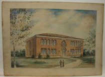 Image of Architectural rendering of Snell Hall (WKU)