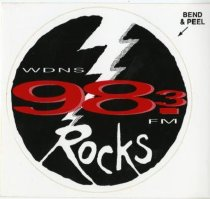 Image of D-98: Rocks (now WDNS 93.3)