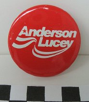 Image of 2009.194.1 - John Anderson and Patrick Joseph Lucey political button