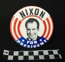 Image of 2009.194.296 - Richard Nixon political button