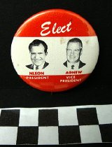 Image of 2009.194.298 - Richard Nixon and Spiro Agnew political button