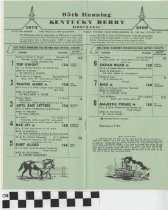 Image of 1969 Kentucky Derby official program