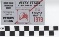 Image of First Floor Clubhouse Boxes ticket
