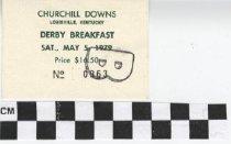 Image of Derby Breakfast ticket