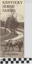 Image of Kentucky Horse Farms pamphlet